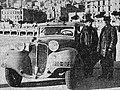La Renault Nervasport CS de Charles Lahaye (G) et René Quatresous (D) victorieuse du rallye Monte-Carlo 1935.jpg