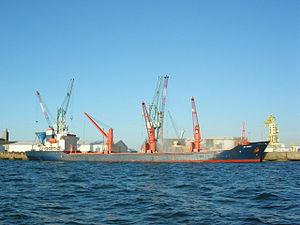 La Rochelle - Chargement bateau (1)