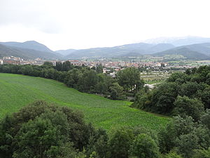 228th Mixed Brigade - View of La Seu d'Urgell, where the 228th Mixed Brigade was formed in the winter of 1938.