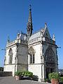 La chapelle saint hubert, château d'Amboise.JPG