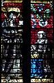 La duchesse Philippe de Gueldre et sa sainte patronne sur un vitrail de la Cathédrale de Metz.jpg