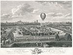 La quatorzieme expérience aerostatique de M. Blanchard accompagné du Chevalier Lepinard faite à Lille en Flandre, le 26 août 1785 - Österreiche Nationalbibliothek.jpeg