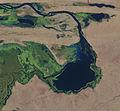 Lac de Korienze Mali - Landsat8.jpg