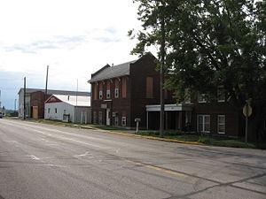 Ladora, Iowa - Downtown Ladora, 2007