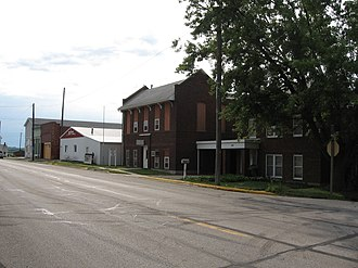 Ladora, Iowa - Downtown Ladora, 2007