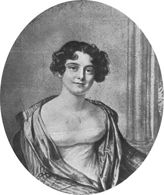 Franklin's lost expedition - Portrait of Jane Griffin (later Lady Franklin), 24, in 1815. She married John Franklin in 1828, a year before he was knighted.