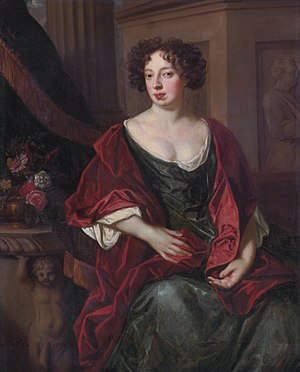 Daniel Finch, 2nd Earl of Nottingham - Lady Essex (née Rich) Finch (studio of Peter Lely)