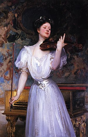 Leonora Speyer - Lady Speyer by John Singer Sargent, 1907