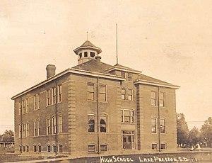 National Register of Historic Places listings in Kingsbury County, South Dakota - Image: Lake Preston SD