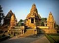 Lakshmana Temple Khajuraho 10th Century AD Western Group of Temples.jpg