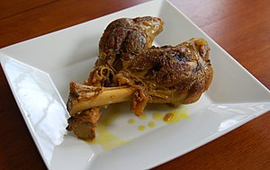Cuisine of Algeria - Lamb shanks