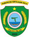 Official seal of Sula Islands Regency