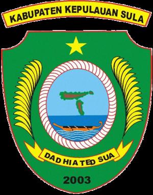 Sula Islands - Seal of the regency