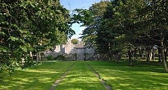 Lambay Island - Castle Approach