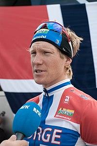Lars Petter Nordhaug, Mendrisio 2009 - Men Elite.jpg