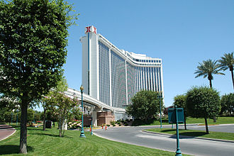Westgate Las Vegas - Hotel with former Hilton logo and branding.