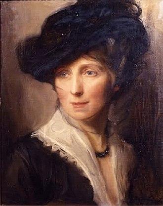 Philip de László - Mrs Philip de László, née Lucy Guinness, by Philip Alexius de László