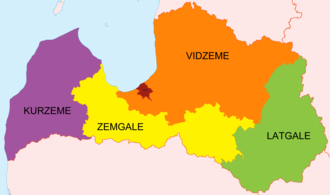 Saeima - Deputies are elected from five constituencies, based on the cultural regions of Latvia.