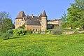 Le chateau de La Bourlie, commune d'Urval, Dordogne, France.jpg