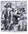 Le mari cocu met de l'eau dans son vin Gravure vers 1660.jpg