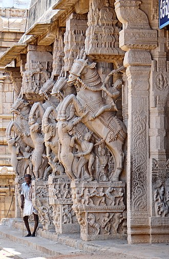 Ranganathaswamy Temple, Srirangam - Sesharayar mandapam artwork