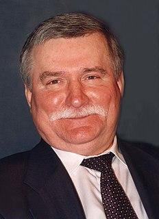 Lech Wałęsa Polish politician, Nobel Peace Prize winner, former President of Poland
