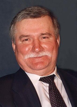 Lech Wałęsa - Wałęsa in 1996