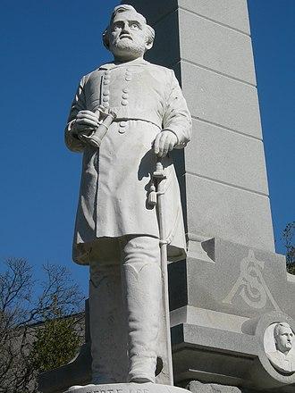 Confederate War Memorial (Dallas) - Image: Lee 4
