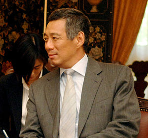 Government of Singapore - Prime Minister Lee Hsien Loong at the Istana on 3 June 2006