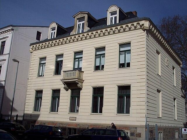 Дом, в котором жил Малер в Лейпциге