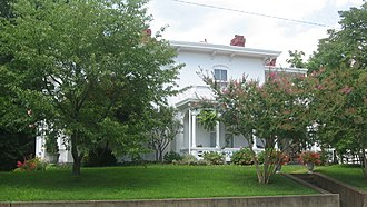 National Register of Historic Places listings in Jackson County, West Virginia - Image: Lemley Wood Sayer House