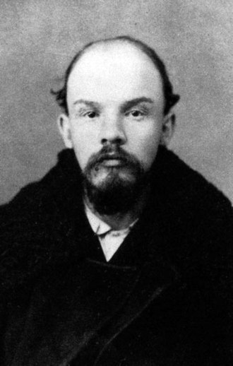 5th Congress of the Russian Social Democratic Labour Party - Police photograph of V. I. Lenin from December 1895