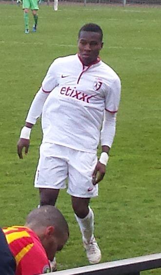 Youssouf Koné (footballer, born 1995) - Image: Lens B Lille B (04 04 2015) 4