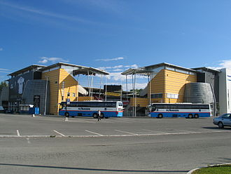 Lerkendal Stadion - Exterior view of the Rema Stand (left) and EiendomsMegler1 Stand (right)
