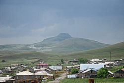 Lernapar with Tsaghkasar mountain in the background