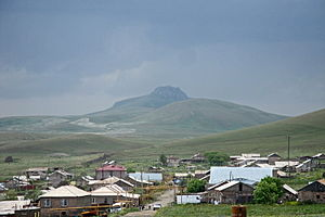Lernapar - Lernapar with Tsaghkasar Mountain (background)