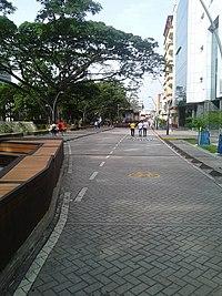Bulevar de la Avenida Colombia