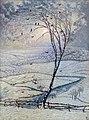 Les corbeaux - William Degouve de Nuncques.jpg