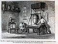 """Les merveilles de l'industrie, 1873 """"Appareil employé a la manufacture de Sèvres pour facconer les grandes pièces par le procédé du coulage avec le secours de l'air comprimé agissant à l'intérieur du moule"""". (4617782471).jpg"""