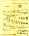 Letter signed Samuel L. Mitchell and Felix Pascalis, New York, to Thomas Jefferson, May 11, 1824.jpg