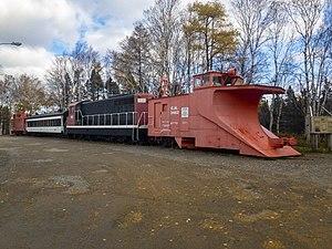 Newfoundland Railway - Lewisporte Train Park, Newfoundland, Canada