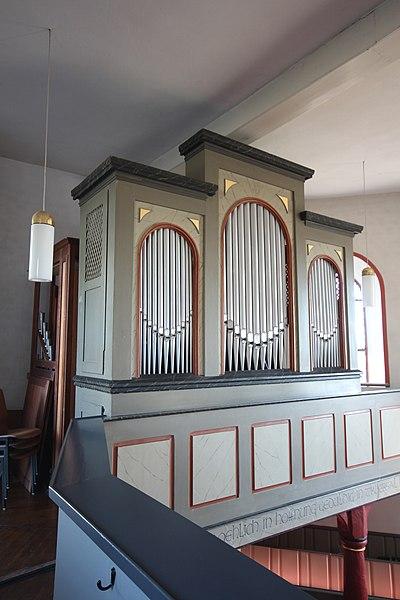 Datei:Lich-Eberstadt - ev Kirche - Orgel - Prospekt 5.jpg