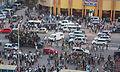Liesse populaire dans les rues de Kinshasa hier soir à la suite de la qualification de l'équipe nationale de la RD Congo.jpg