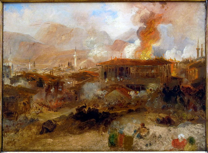 TURNER William Fire in Constantinople