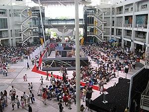 Limkokwing University of Creative Technology - Limkokwing University of Creative Technology main atrium in Cyberjaya