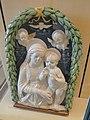 Limoges porcelain museum adrien dubouche madonna della robbia florence 1490 (41138443120).jpg
