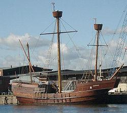 Раннее Новое время Википедия Каравелла символ Великих географических открытий