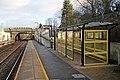 Liverpool-bound platform, Lea Green railway station (geograph 3818937).jpg