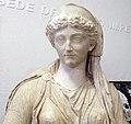 Livia seduta rappresentata come cerere, 1-50 dc ca, da augusteo di roselle, 02.JPG