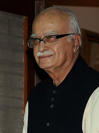 Bharatiya Janata Party - Lal Krishna Advani, deputy Prime Minister under Vajpayee and one of the architects of the Ram Janmabhoomi movement